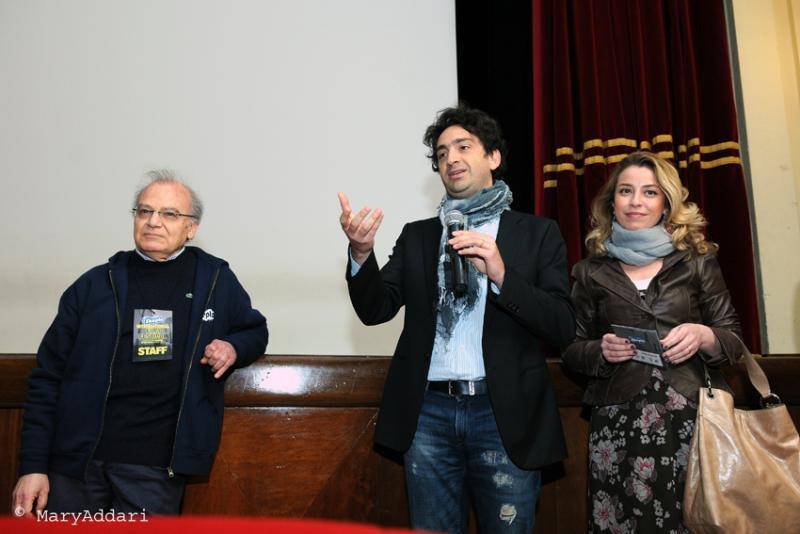 Skepto International Film Festival 2012 - Marco Schirru, Alfredo Sguglio e Luana Galluccio