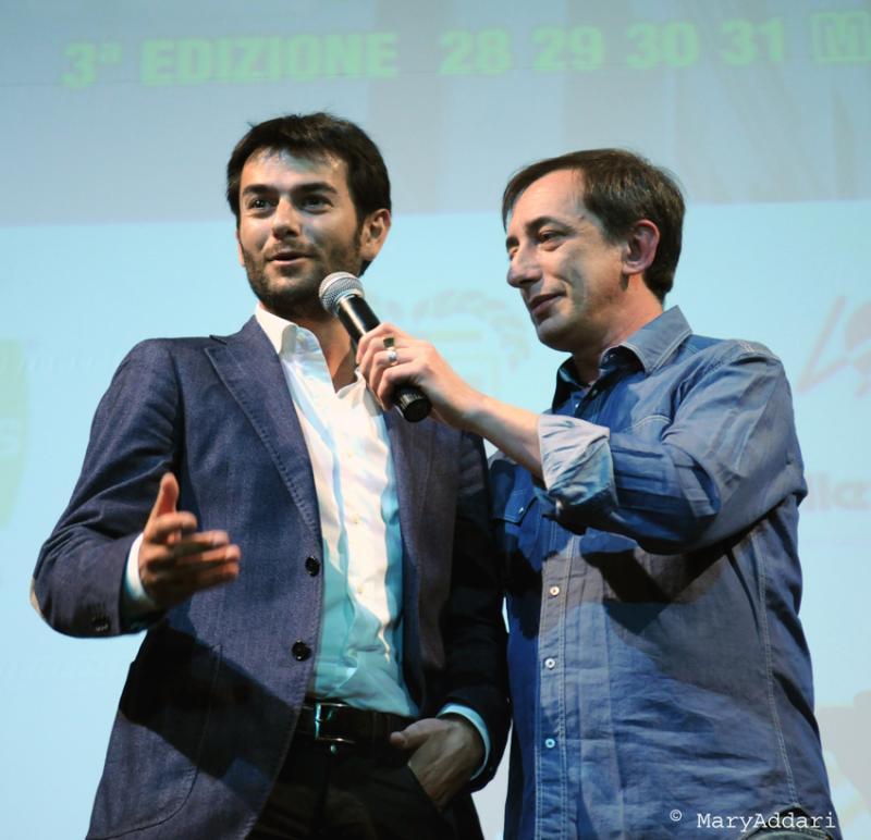 Skepto International Film Festival 2012 - Daniele Lucca e il sindaco di Cagliari Massimo Zedda