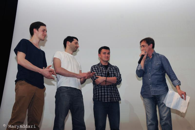 Skepto International Film Festival 2012 - Andreas Orhalmi, Johan Rosenberg, Bartosz Kruhlik e Daniele Lucca