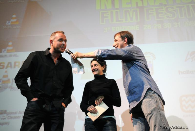 Skepto International Film Festival 2012 - James Rumsey, Margherita Zanardi e Daniele Lucca