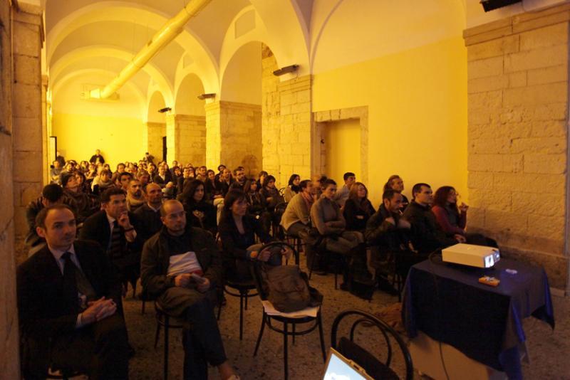 Proiezioni della seconda serata - ex Liceo Artistico di piazza Dettori