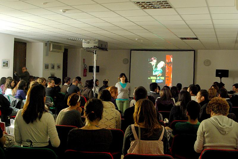 Skepto International Film Festival 2011: un momento del matinée dedicato alle scuole