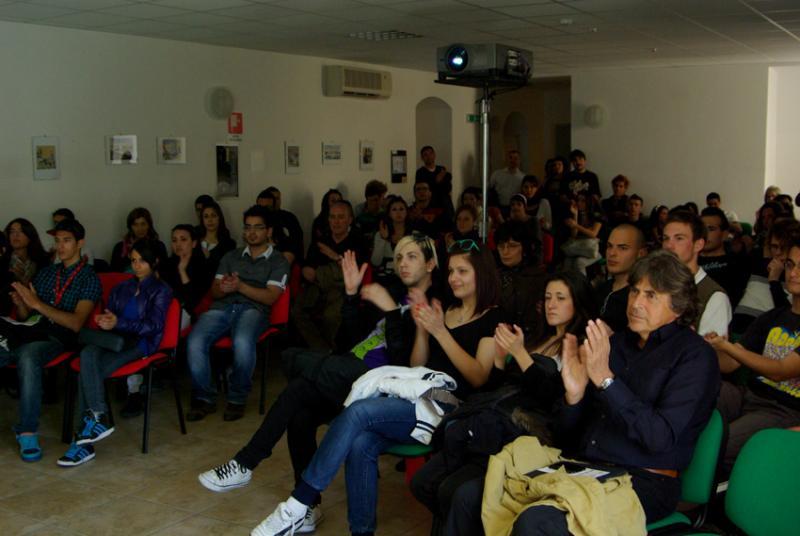 Skepto International Film Festival 2011: un momento del matinée dedicato alle scuol
